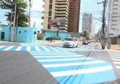 Os pedestres também poderão receber multas (FOTO: Divulgação/Prefeitura de Fortaleza)