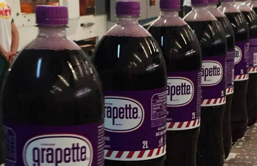 Nova versão do refrigerante Grapette será produzida no Ceará