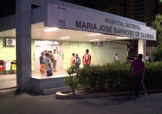 O homem ainda foi levado para o hospital (FOTO: Reprodução/TV Jangadeiro)