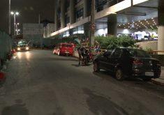 O tiroteio aconteceu em frente ao IJF (FOTO: Reprodução/TV Jangadeiro)