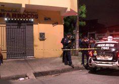 A vitima reagiu ao assalto (FOTO: Reprodução/TV Jangadeiro)