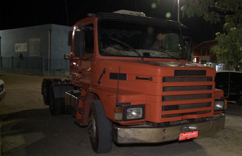 Polícia constata que caminhoneiro que atropelou e matou mulher dirigia alcoolizado