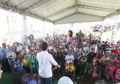 A festa aconteceu neste domingo (FOTO: Carlos Gibaja e Marcos Studart)