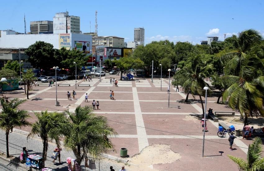 50 praças de Fortaleza devem ser reformadas em 2018, segundo prefeitura