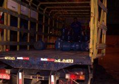 A carga foi recuperada em Messejana (FOTO: Reprodução/TV Jangadeiro)
