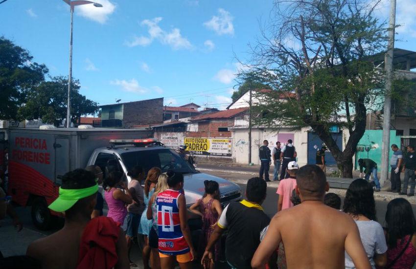 Cabeça de homem é encontrada dentro de saco em avenida de Fortaleza