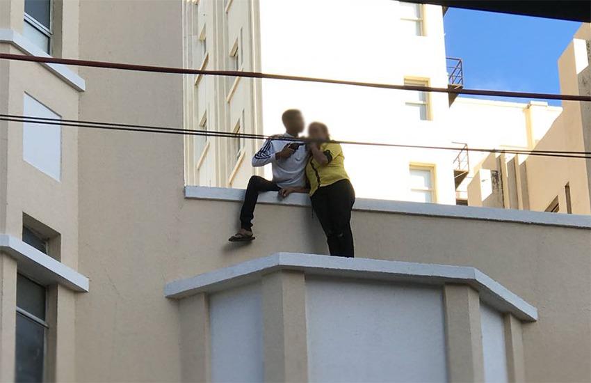 Mulher é mantida refém em prédio no Centro de Fortaleza