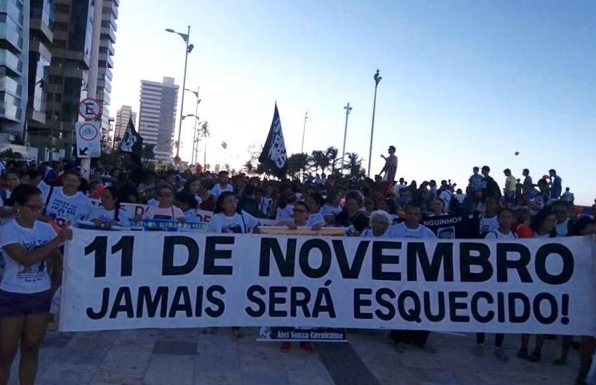 Familiares e amigos de vítimas da Chacina da Messejana pedem paz e justiça