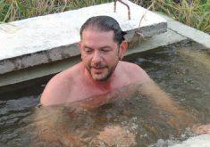 Episódio da adutora ficou marcado pelo mergulho de Cid Gomes. (Foto: Eldem)