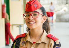 Alice Maria faz o 7º ano do Ensino Fundamental II (FOTO: Divulgação)