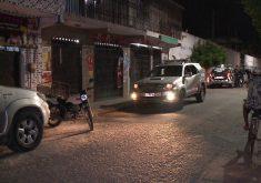 O comércio foi atacado no Bairro Jacarecanga (FOTO: Reprodução/TV Jangadeiro)
