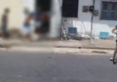 A execução foi todo filmada (FOTO: Reprodução/Whatsapp)