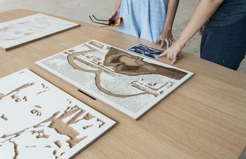 Projeto promove arte de forma inclusiva para pessoas com deficiência visual