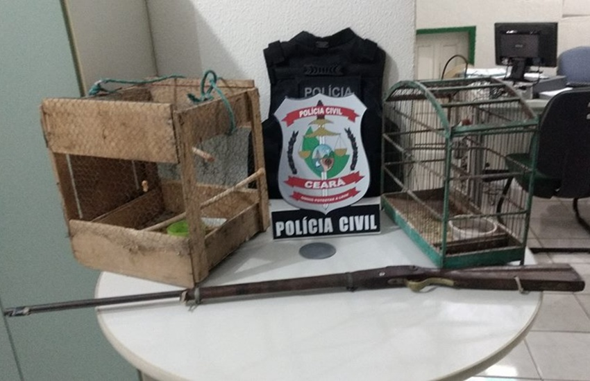 Pai é preso suspeito de abusar e assediar a própria filha no Ceará