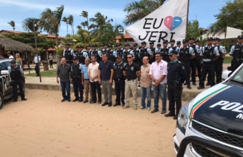 """Morador """"agradece"""" a Luana Piovani reforço do efetivo policial em Jericoacoara"""