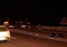 O acidente acontece na BR-116 (FOTO: Reprodução/TV Jangadeiro)