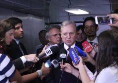 Tasso comentou assunto durante entrevista coletiva (FOTO: Reprodução/Facebook)
