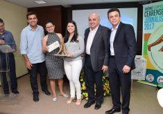 Prêmio Cooperativismo Cearense de Jornalismo. (Foto: OCB-SESCOOP/CE)
