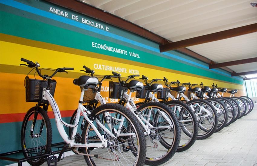 Condomínio de Fortaleza oferece sua própria estação de bicicletas compartilhadas
