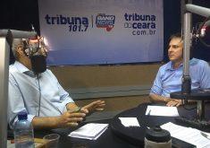 Camilo Santana criticou reforma da Previdência em entrevista. (Foto: Jéssica Welma / Tribuna do Ceará)