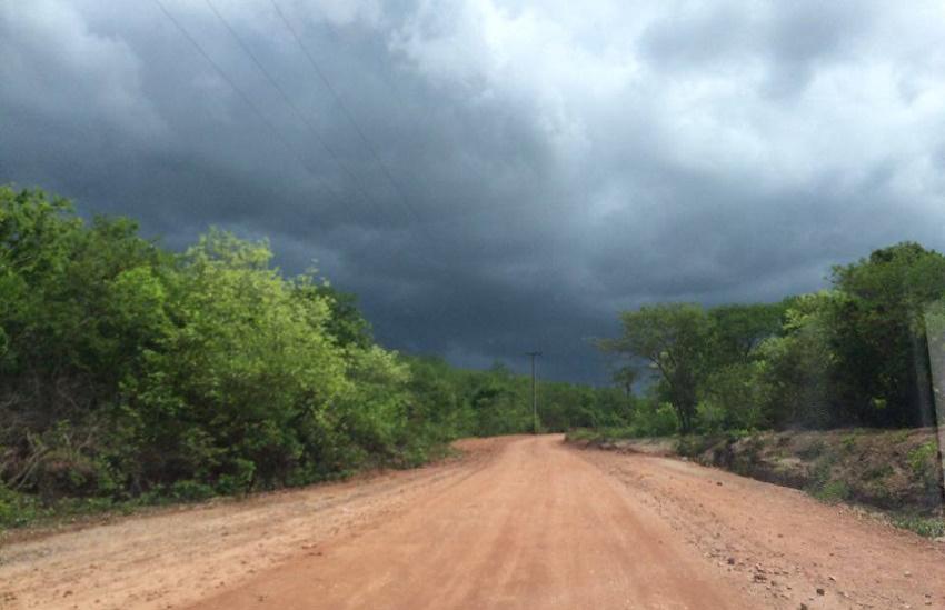 Chove em 46 municípios do Ceará; maior chuva é em Porteiras
