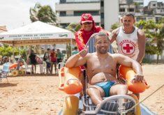"""Turista de Brasília aprovou a iniciativa: """"gostei muito"""" (FOTO: Ariel Gomes/Governo do Estado)"""