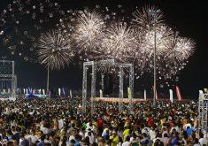 Show pirotécnico terá duração de 18 minutos (FOTO: Prefeitura de Fortaleza/Facebook)
