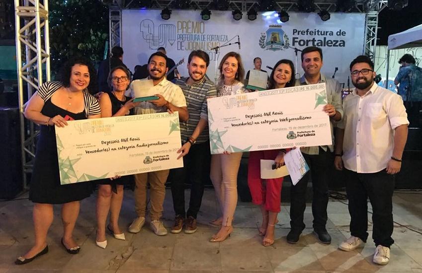 Tribuna do Ceará e Tribuna Band News vencem Prêmio Prefeitura de Fortaleza de Jornalismo