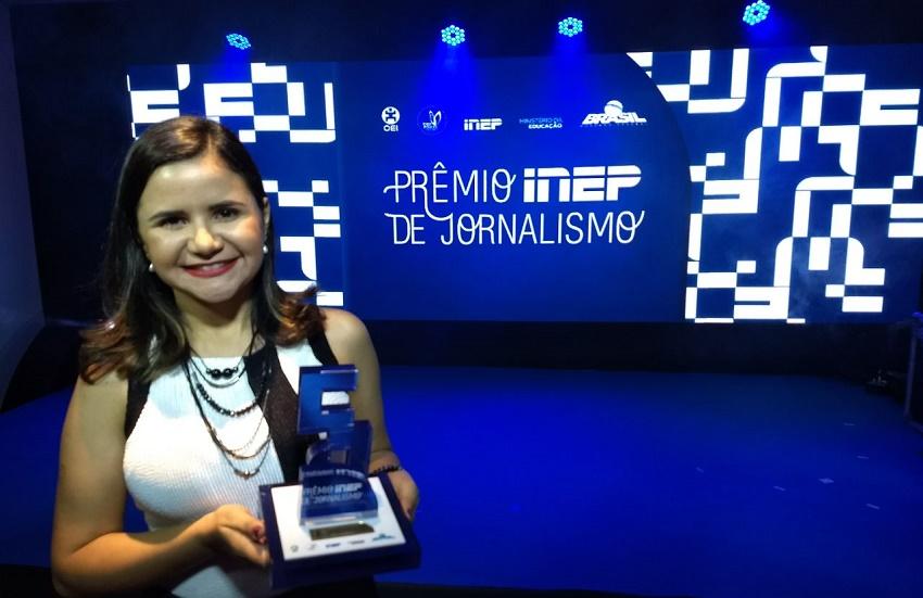 Tribuna do Ceará vence Prêmio Inep, com melhor reportagem sobre educação básica no país