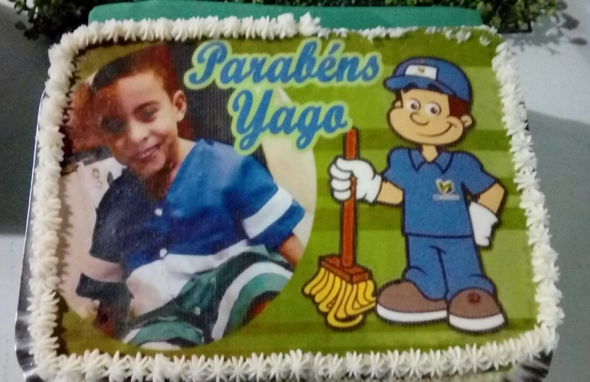 Luiz Yago completou 5 anos