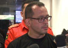 André Costa concedeu entrevista coletiva neste sábado (FOTO: Reprodução/TV Jangadeiro)