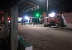 Chacina ocorreu em uma casa de show no bairro Cajazeiras (FOTO: Reprodução/Whatsapp)