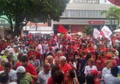 manifestação, Lula