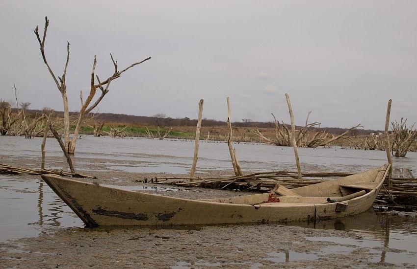 Apesar das boas chuvas, situação no Castanhão ainda é preocupante, com 3,5% da capacidade