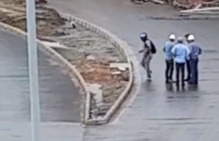 Engenheiros de obra na Aguanambi são assaltados durante expediente