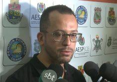 Secretário André Costa pontuou ações da SSPDS na comunidade da Babilônia. (Foto: Reprodução/TV Jangadeiro)