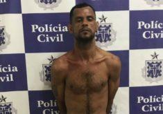 O suspeito foi preso em um imóvel próximo à casa alugada pela vítima (FOTO: Divulgação/Polícia Civil)