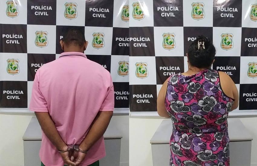 Casal é preso em Fortaleza por abusar sexualmente das quatro filhas por 16 anos