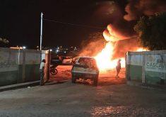 Maior prejuízo foi com as motos. (Foto: Whatsapp/Tribuna do Ceará)