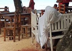 O jovem foi morto na praia de Jericoacoara (FOTO: Reprodução/Whatsapp)