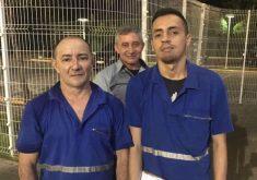 Gabriel resolveu homenagear com uma postagem nas redes sociais o gesto dos funcionários (FOTO: Gabriel Lobo)