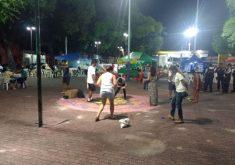 A ação tem como objetivo promover a paz e a cultura nos espaços públicos da capital (FOTO: Eumar Lima)