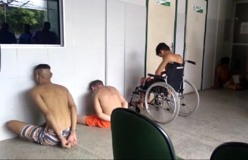 Rebelião na cadeia pública de Pentecoste deixa 9 feridos e 2 mortos