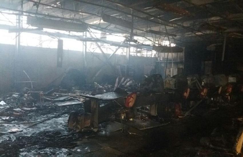 Prédio da Regional IV é destruído por incêndio em noite de ataques criminosos
