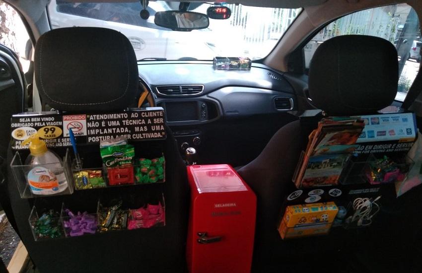 Taxista de Fortaleza oferece cerveja, remédio para ressaca e até camisinha para clientes