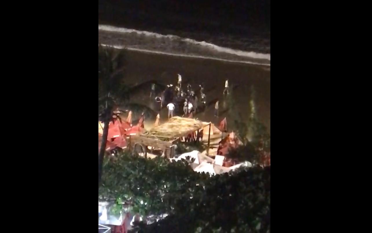Após roubar turista, dupla é surpreendida com tiros na Avenida Beira Mar
