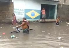 chuva, alagamento