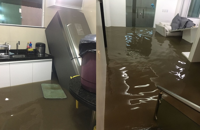 Sobral sofre com alagamentos após fortes chuvas na região nos últimos dias