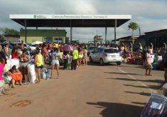 Presos fugiram de uma unidade recém-inaugurada em Itaitinga. (Foto: Dorian Girão / TV Jangadeiro)