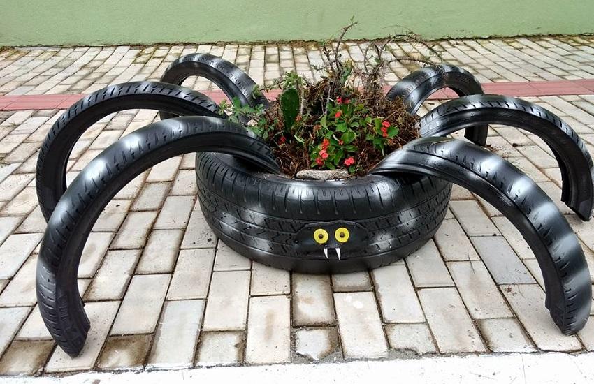 pneu, arte